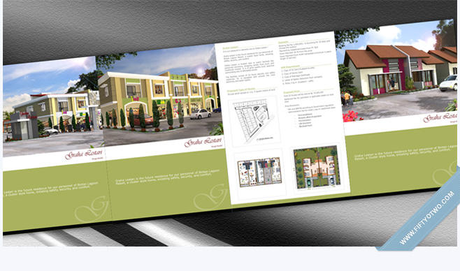 Graha Lestari Brochure Design