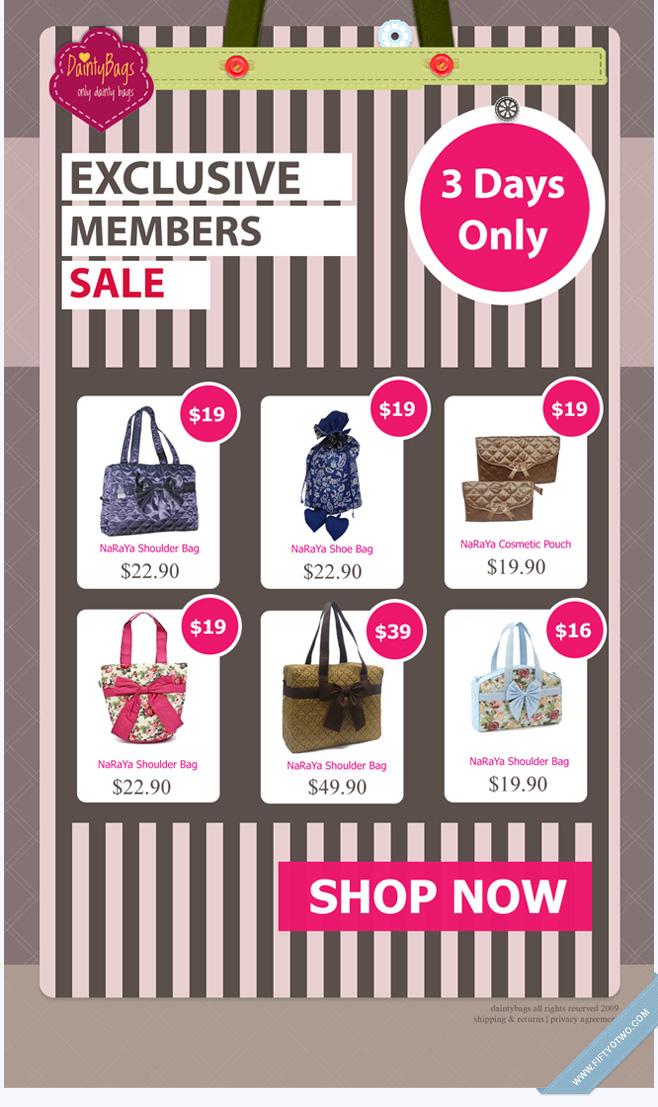 Dainty Bags - eDM Design