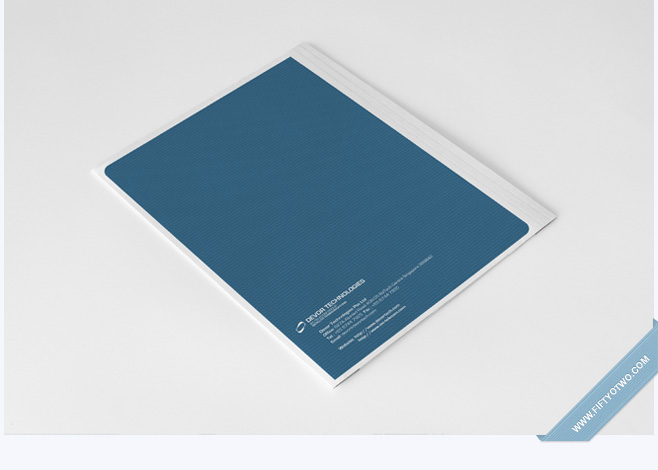 Devor Tech Corporate Folder Design
