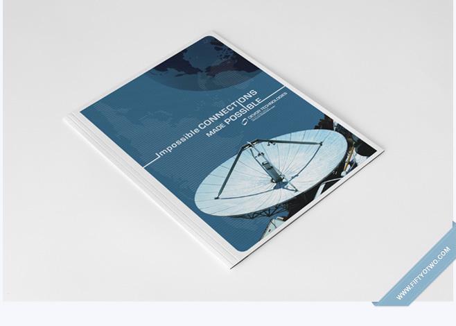 Devor Tech Corporate Folder Design