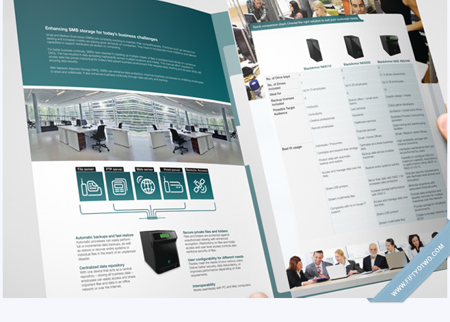 Seagate Brochure Design