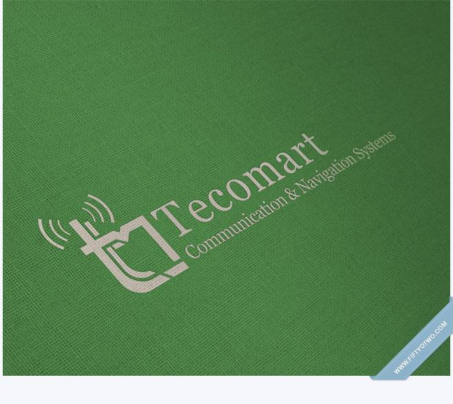 Tecomart Logo Design
