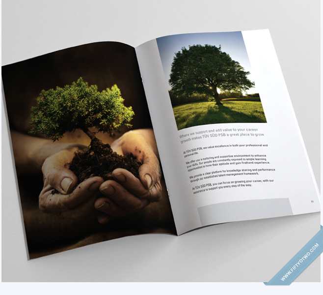 TÜV SÜD PSB – Campus Recruitment Brochure Design